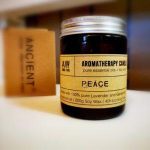 Aromaterapeutická svíčka – Mír
