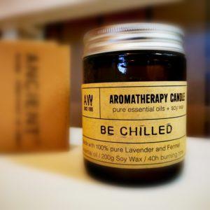 Aromaterapeutická svíčka – Oddych