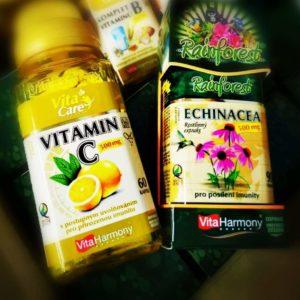 AKCE – Echinacea + vitamín C